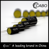 Audio grade acoustic capacitors